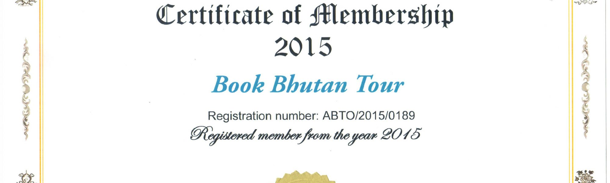 Registered Travel Agency in Bhutan