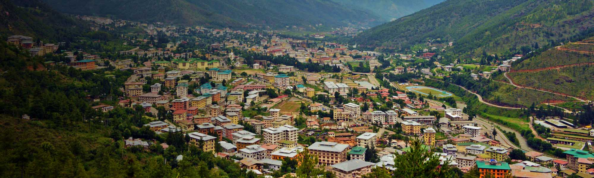 Thimphu Capital of Bhutan