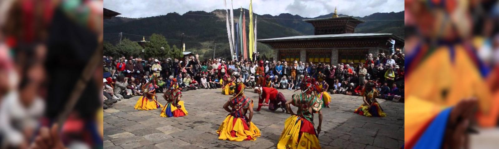 Bhutan Bumthang Jambay Lhakhang Festival